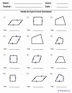 worksheets polygons and quadrilaterals 1025 geometry worksheets geometry worksheets quadrilaterals worksheet quadrilaterals