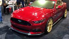 custom 2015 ford mustangs at the sema show 2014 mustangmedic exclusive youtube
