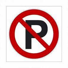 Verboten Parken Verboten Schild Ausfahrt Freihalten