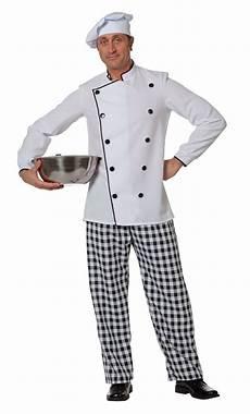 tenue de cuisine homme costume de cuisinier pour homme en grande taille v19841