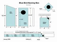 bluebird bird house plans 16 ideas for birdhouses feeders and nesting box plans