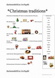 traditions worksheets 15587 traditions esl worksheets