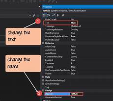 c windows forms application tutorial with exle