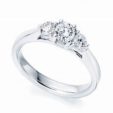platinum trilogy diamond engagement ring from berry s