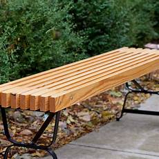 algoma net company 5 ft backless mall style bench 71163