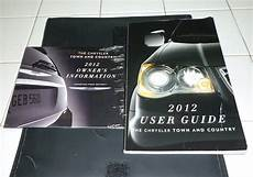 free service manuals online 2012 chrysler town country on board diagnostic system 2012 chrysler town country user guide owners manual set dvd 12 w case ebay