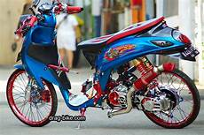 Modif Fino Simple by Modifikasi Motor Mio Fino Simple Modif Vixio