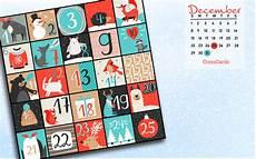 december 2019 advent calendar desktop calendar free