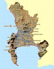 map of cape t own s metropolitan area city of cape town 2012 download scientific diagram