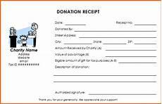 charitable donation tax receipt template donation receipt templates receipt template marketing