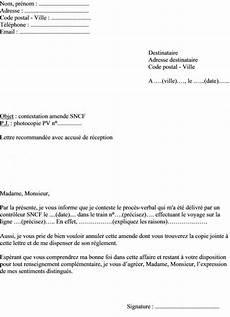 lettre de contestation d amende lettre type contestation amende stationnement modele de