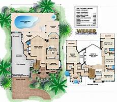 mediterranean house plans with pool mediterranean house plan 2 story luxury home floor plan