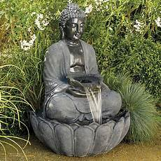 fontaine de jardin zen buddha for the home garden fountains buddha