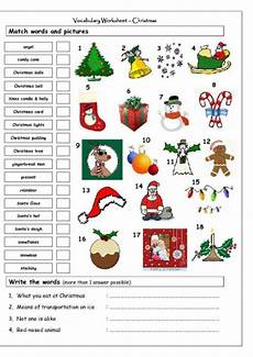 my english classes christmas worksheets