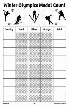 free worksheets to print 18680 free printable winter olympics medal count tally worksheets supplyme