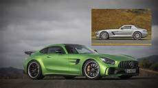 sls amg gt how the mercedes sls amg evolved into the mercedes amg gt