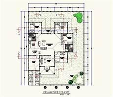 Gambar Denah Rumah Dengan Skala 1 100 Sekitar Rumah