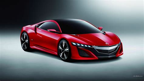 Acura, Acura Nsx, Car, Red Cars Wallpapers Hd / Desktop