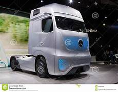 mercedes future truck ft 2025 editorial image of industry trailer 44993488
