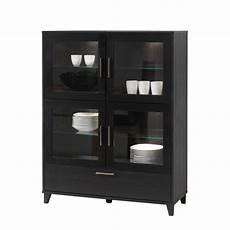 highboard schwarz highboard avila eiche massivholz home24