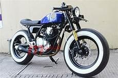 Modif Scorpio Minimalis by Modifikasi Yamaha Scorpio Ala Cafe Racer Minimalis