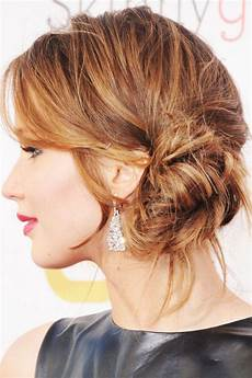 Bun To The Side Hairstyles