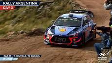 rallye argentine 2018 rally argentina day three hyundai motorsport 2018