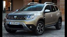 2018 Dacia Duster And Driving