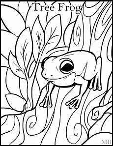 frog coloring pages free on clipartmag