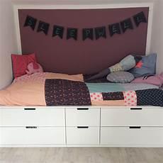 Bett Auf Nordli Kommoden Ikeahacks Kinderzimmer