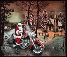 weihnachtsmann auf motorrad gif santa s a biker hd open road