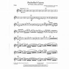 pachelbel johann canon for piano trio violin cello