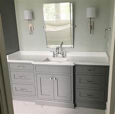 grey cabinet paint color sherwin williams sw 7067 cityscape painting bathroom cabinets