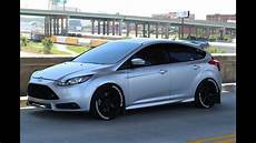 2014 focus st ride along reaction tuned ford focus