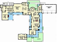 spanish revival house plans with courtyards stunning spanish revival house plan 82004ka 1st floor