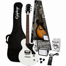 epiphone les paul pack epiphone pro 1 les paul jr electric guitar pack music123
