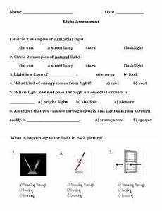 science worksheets for grade 2 light and 12098 light quiz modified grade 2 choice student physics