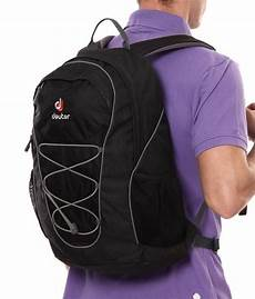 deuter gogo black backpack