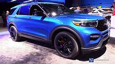 2020 ford st 2020 ford explorer st exterior and interior walkaround