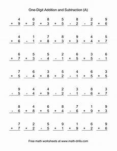 addition and subtraction worksheets eyfs 10076 adding and subtracting single digit numbers a