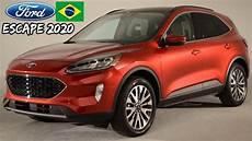 Novo Ford Escape Kuga 2020 Gera 231 227 O Vem Ao Brasil