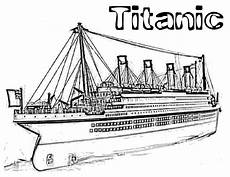 Gratis Malvorlagen Titanic Titanic Coloring Pages Titanic