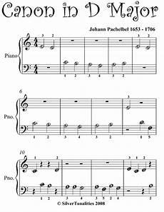 canon in d beginner piano sheet music by johann pachelbel apple books