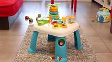 table d activité cotoons smoby table d activit 233 s cotoons