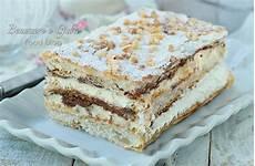 dolci con crema pasticcera e nutella millefoglie alla nutella dolce veloce con crema pasticcera e panna idea dessert fine pasto