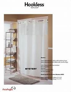 hookless mystery shower curtain the hookless 174 shower curtain mystery curtain