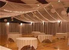 diy ceiling decor all you need is tulle pvc in hula hoop shape white christmas lights a