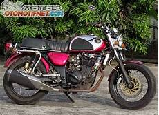 250 Modif Klasik by Modifikasi Kawasaki 250 Ala Cb Klasik