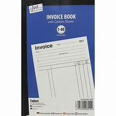 invoice receipt book with carbon sheets accounting books