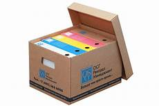 document boxes backup tape cases osg